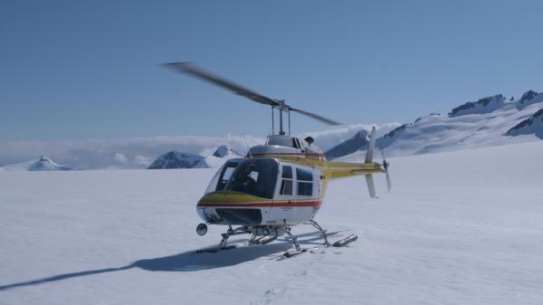 location scout - glacier